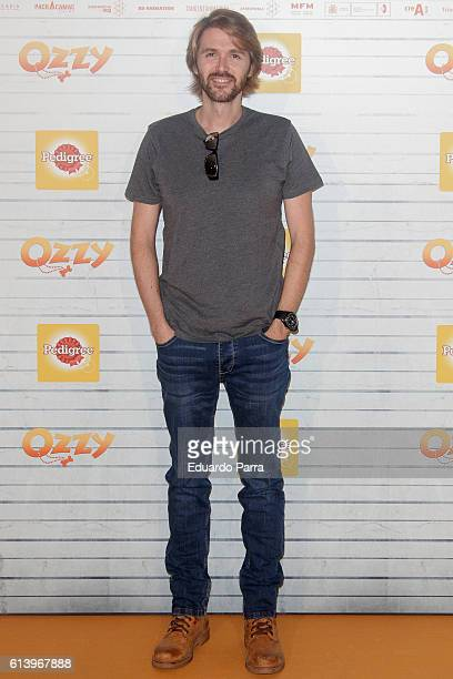 Manuel Velasco attends the 'Ozzy' premiere at Callao cinema on October 11 2016 in Madrid Spain