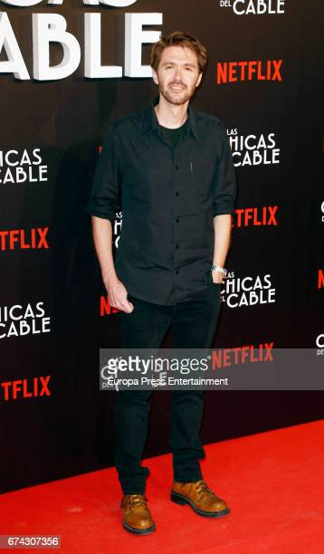 Manuel Velasco attends the premiere of Netflix's 'Las Chicas del Cable' on April 27 2017 in Madrid Spain