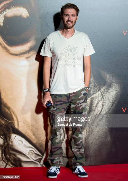 Manuel Velasco attends the 'Veronica' Madrid Premiere on August 24 2017 in Madrid Spain