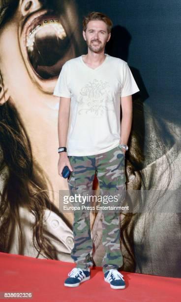 Manuel Velasco attends 'Veronica' premiere at Kinepolis cinema on August 24 2017 in Madrid Spain