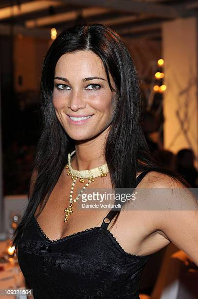 Manuela Arcuri attends day seven of the Ischia Global Film And Music Festival on July 17 2010 in Ischia Italy