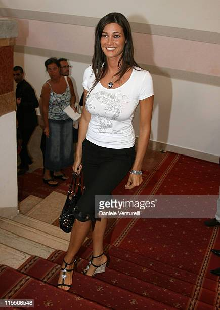 Manuela Arcuri during The 63rd International Venice Film Festival Sightings September 2 2006 in Venice Lido Italy
