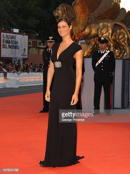 Manuela Arcuri during The 63rd International Venice Film Festival 'The Queen' Premiere Arrivals at Palazzo Del Cinema in Venice Lido Italy