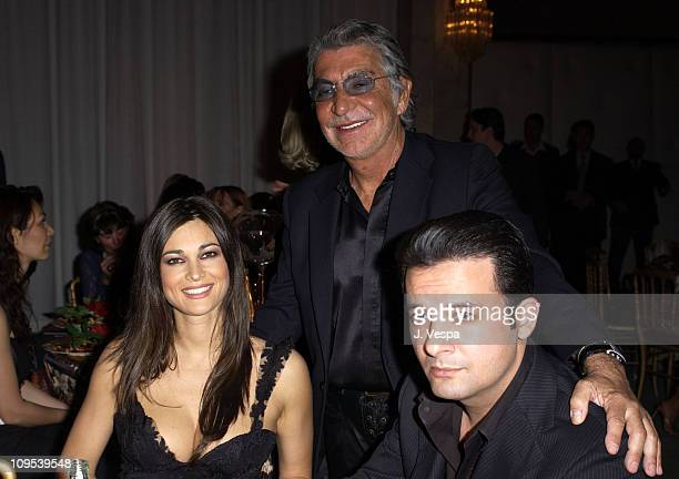 Manuela Arcuri Roberto Cavalli and Wasee Panah Khan