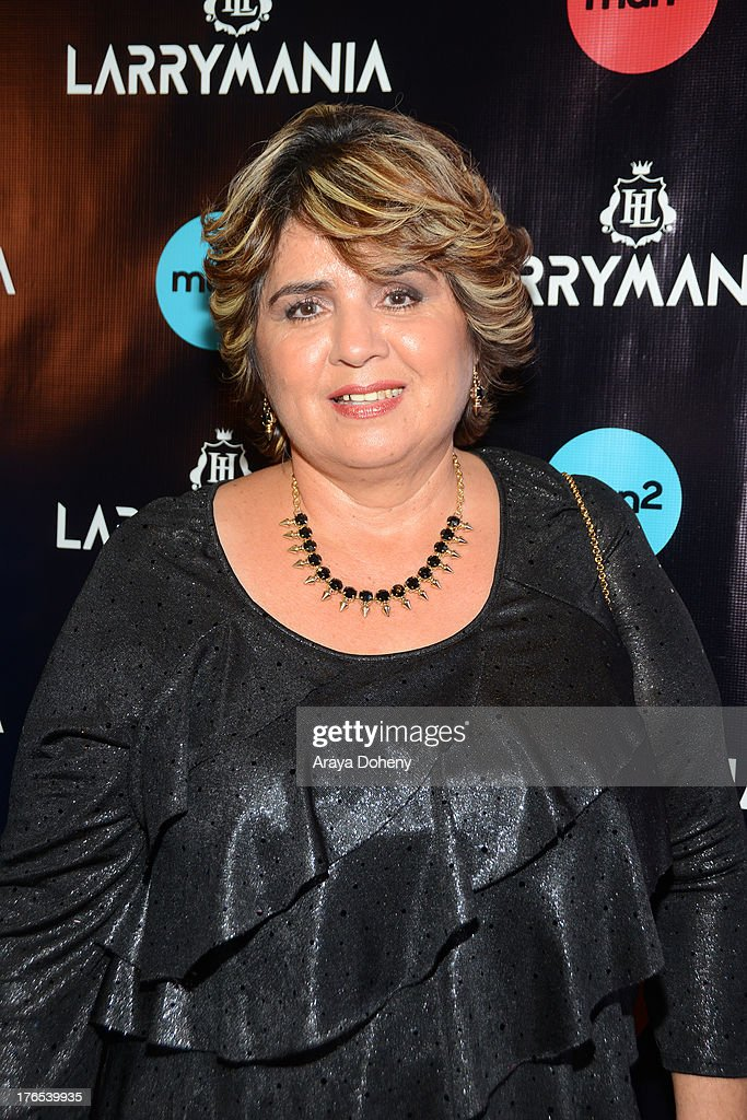 Manuela Ceniceros attends 'Larrymania' Season 2 Premiere Launch Party at SupperClub Los Angeles on August 14, 2013 in Los Angeles, California.