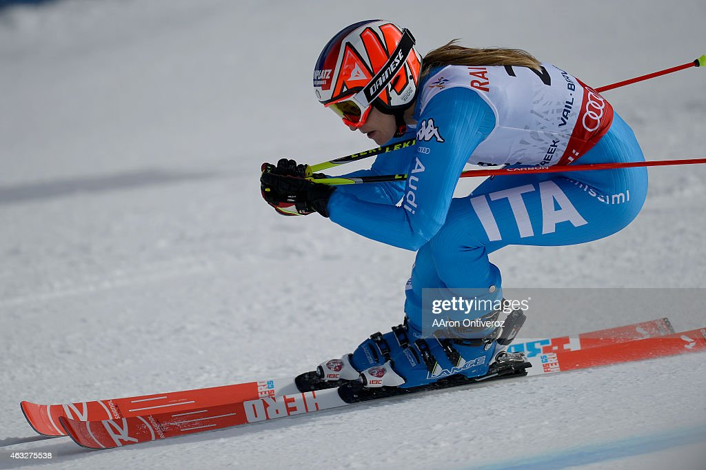 <a gi-track='captionPersonalityLinkClicked' href=/galleries/search?phrase=Manuela+Moelgg&family=editorial&specificpeople=801741 ng-click='$event.stopPropagation()'>Manuela Moelgg</a> of Italy competes during the ladies' giant slalom. FIS Alpine World Ski Championships 2015 on Thursday, February 12, 2015.