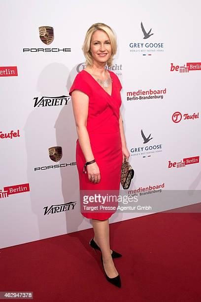 Manuela Schwesig attends the Medienboard BerlinBrandenburg Reception at Ritz Carlton on February 7 2015 in Berlin Germany