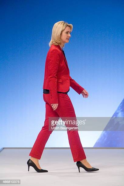 Manuela Schwesig Federal Minister for Family Affairs Senior Citizens Women and Youth on January 26 2014 in Berlin Germany