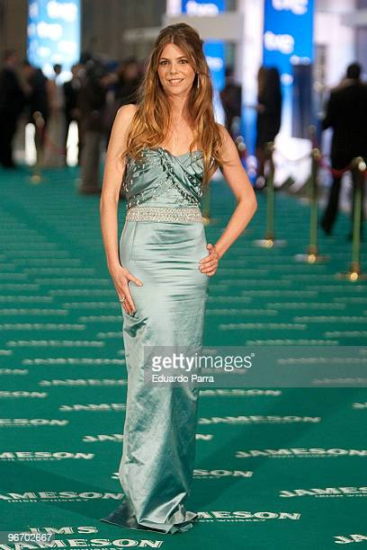 Manuela Velasco attends Goya prizes photocall at Madrid City Hall on February 14 2010 in Madrid Spain