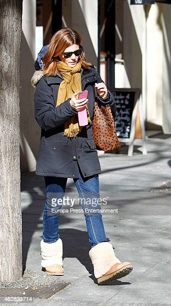 Manuela Velasco is seen on February 5 2015 in Madrid Spain