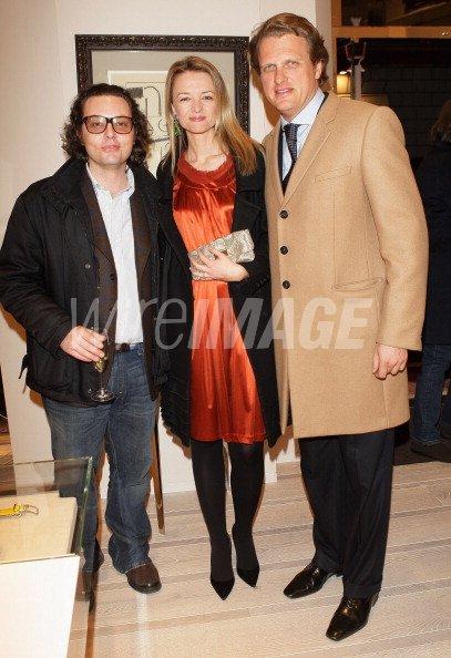 Manuele Della Valle Delphine Gancia Arnault and Alessandro Gancia ... b9b7ae697ef