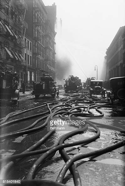 Vintage Fire Engine Stock Photos And Pictures Getty Images