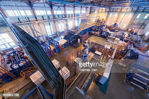 Manufacturing factory : Foto stock