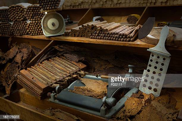 Manufacturing of cigars