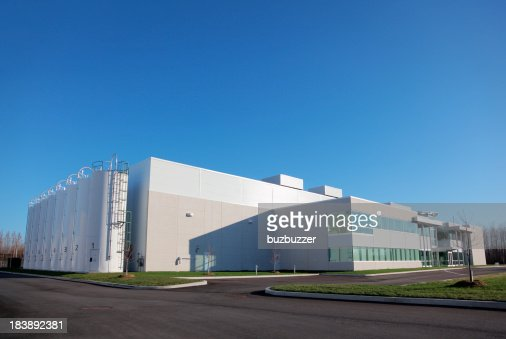 Amplio planta de producción