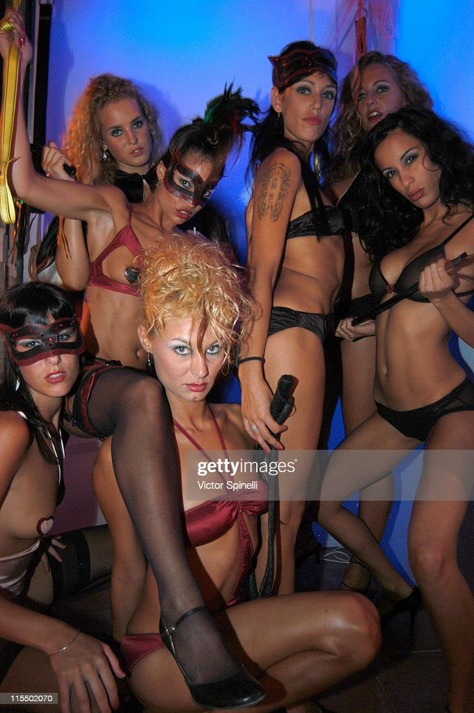 Manumission girls during Manumission Week 5 - The Largest Party in the World at Privilege in Ibiza, Spain.