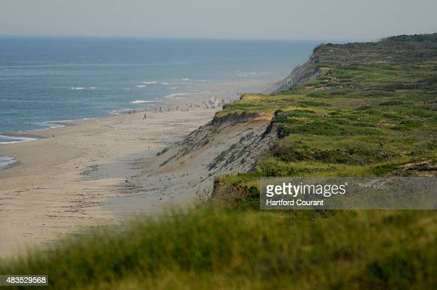 Many artists travel to Cape Cod for the majestic beauty of the beaches that are part of the national seashore like this view of Marconi Beach from an...