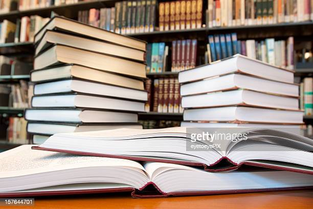 Many books in law firm - vertical
