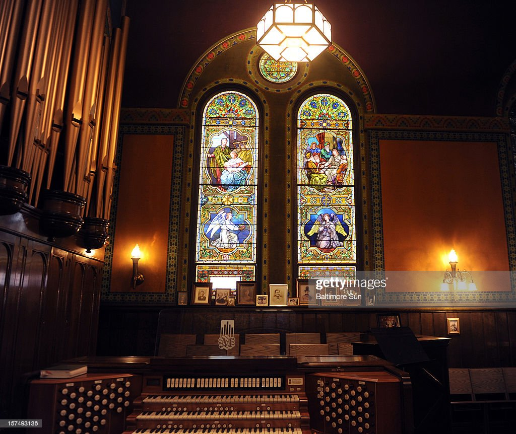 Many buildings and churches can claim a stained-glass window created by Louis Comfort Tiffany, but Baltimore's St. Mark's Lutheran Church features an entire interior created by the famed designer. Advocates are looking to have the sanctuary named a historic landmark.