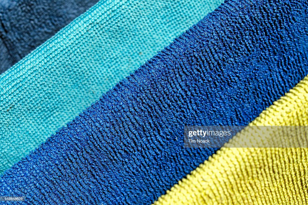 Many colored cloths : Stock Photo