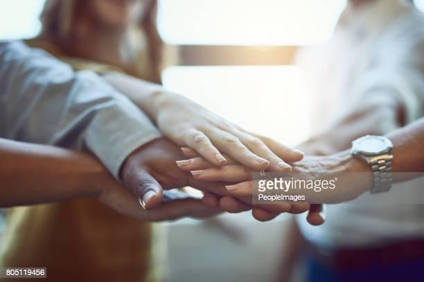 Viele Hände bringen Leichtigkeit