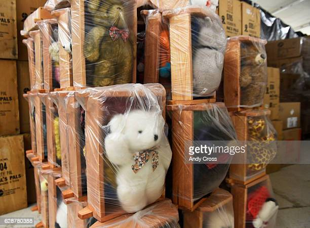 Many many toys await children at the 86th annual Denver Santa Claus Shop at the old Kmart store near Evans Ave and Monaco St December 09 2016 The...