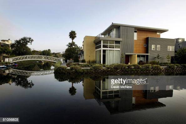 Many older canalside houses have been replaced by bigger milliondollar homes such as this one seen July 13 2004 in Venice California An influx of...
