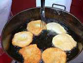 many pancake called FRITTELLE in italian language made with apples
