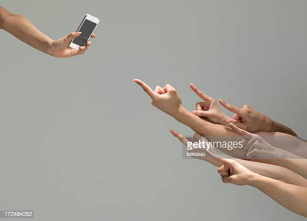 Many people flock to the smartphone