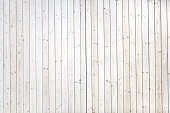 Many long perfect white planks with bright wooden texture. Can be used as background. Many planks.