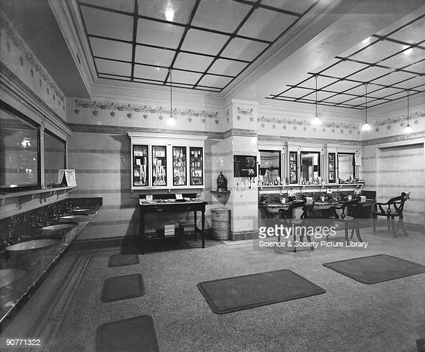 Many stations had a newspaper kiosk and a restaurant but the largest stations had extra facilities such as libraries shoe shining rooms barbers and...