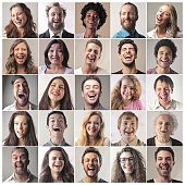 Pictures of happy people