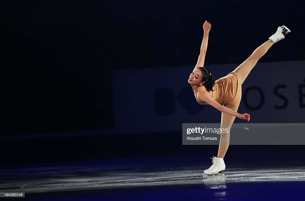 Mao Asada of Japan performs her routine in the Gala during day four of the ISU Grand Prix of Figure Skating Final 2013/2014 at Marine Messe Fukuoka on December 8, 2013 in Fukuoka, Japan.