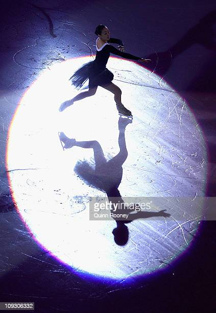 Mao Asada of Japan skates in the Gala Exhibition during day four of the Four Continents Figure Skating Championships at Taipei Arena on February 20...
