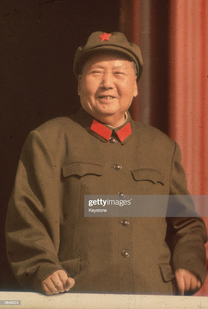 Mao Tse Tung, President of Red China.