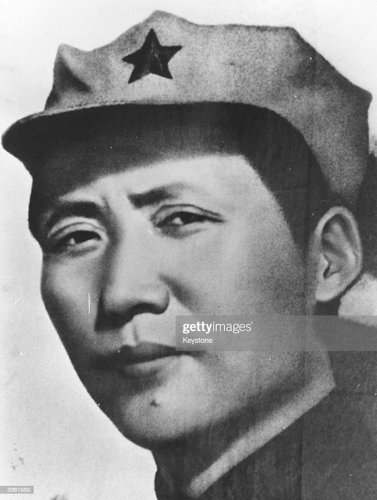 Mao Tse-tung (1893-1976), Chinese Communist leader who was chairman of the Communist party of China and the principal founder of the People's Republic of China, as a young man.