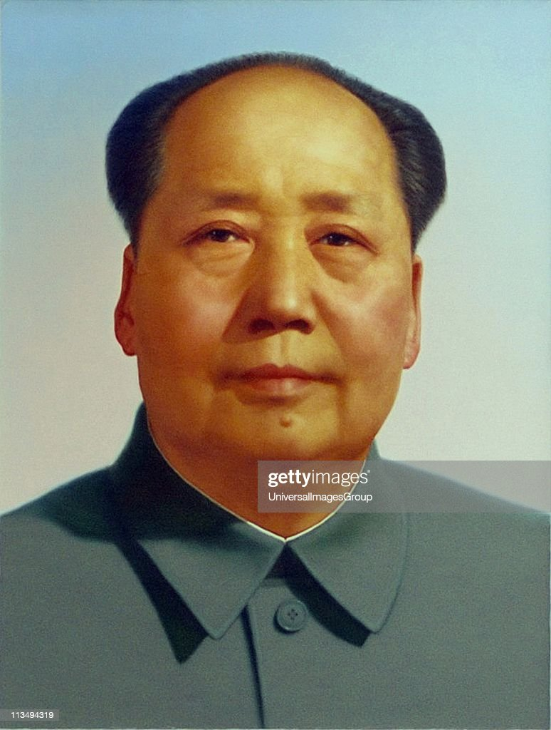 <a gi-track='captionPersonalityLinkClicked' href=/galleries/search?phrase=Mao+Zedong&family=editorial&specificpeople=77863 ng-click='$event.stopPropagation()'>Mao Zedong</a> 1893 - 1976), Chinese revolutionary, political theorist and communist leader. Led the People's Republic of China 1949-1976