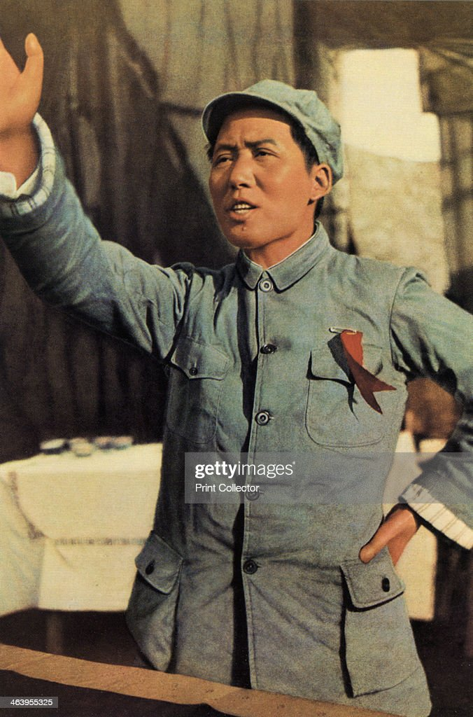 Mao Zedong Chinese Communist revolutionary and leader c1920sc1940s The son of a peasant farmer Mao Zedong led the Red Army which undertook the epic...