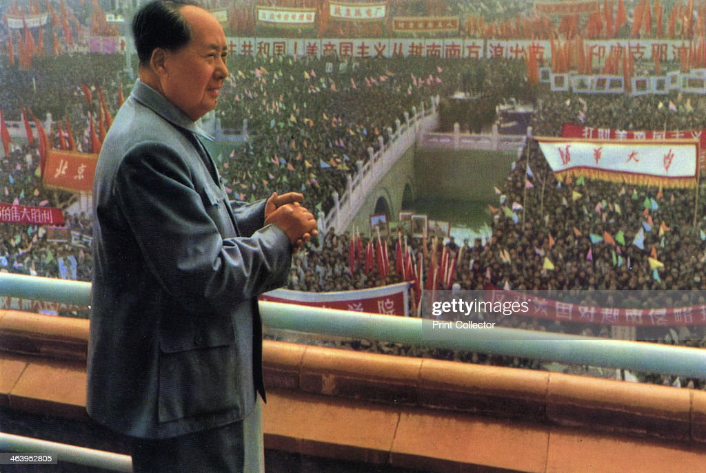 Mao Zedong Chinese Communist revolutionary and leader c1960sc1970s The son of a peasant farmer Mao Zedong led the Red Army which undertook the epic...