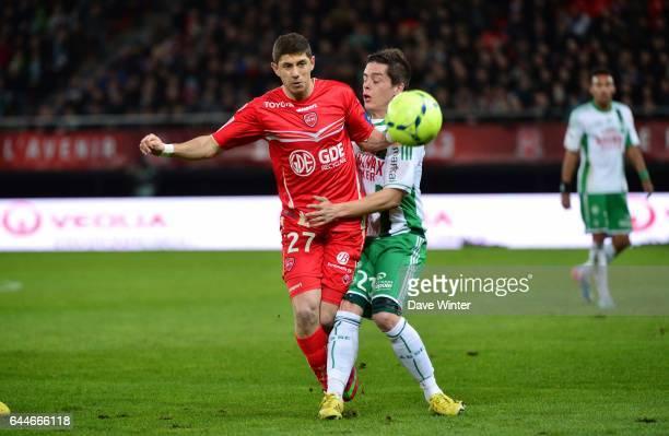 Maor MELICSOHN / Romain HAMOUMA Valenciennes / Saint Etienne 32e journee Ligue 1 Photo Dave Winter / Icon Sport