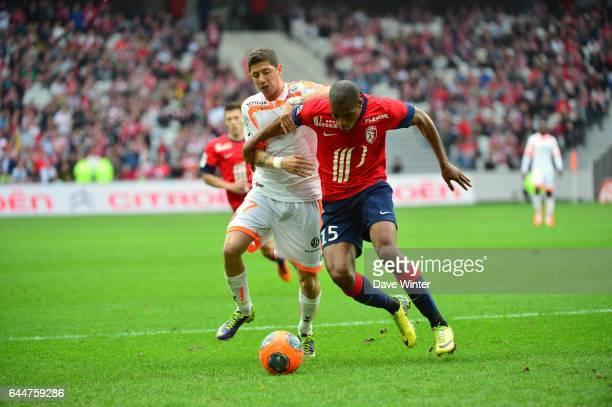 Maor MELIKSON / Djibril SIDIBE Lille / Valenciennes 33eme journee de Ligue 1 Photo Dave Winter / Icon Sport