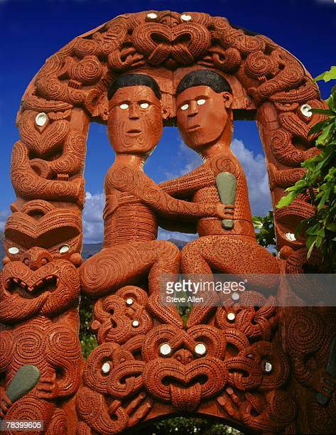 Maori sculpture, New Zealand