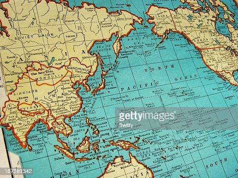 Map of Asia 1942