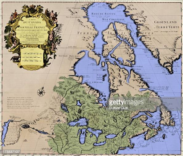 Map of Canada New France Pictures – Map De Canada