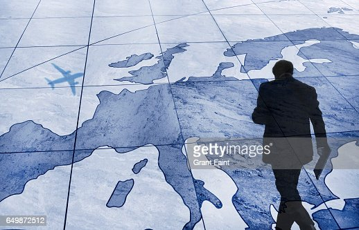Map of Europe : Stock Photo