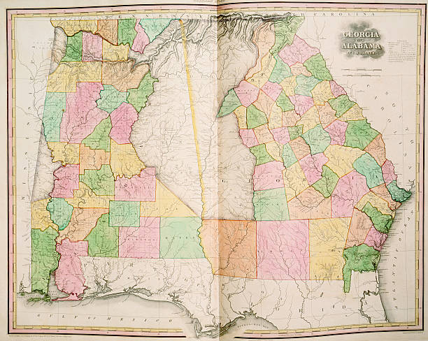 Trail Of Tears Oklahoma Map.Georgia And Alabama Prior To The Trail Of Tears Pictures Getty Images
