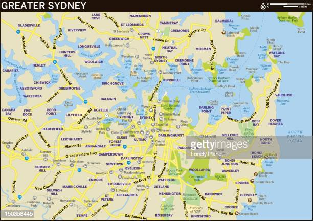 Map of Greater Sydney.
