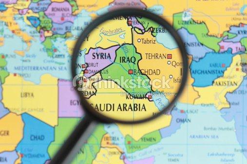 Mapa De Irak Foto de stock – Mapa De Iraq