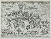 Map of Kinsale , England