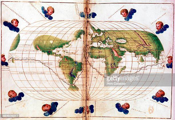 Map of Magellan's round the world voyage 15191521 A Portugueseborn navigator sponsored by Spain Ferdinand Magellan led the expedition that made the...
